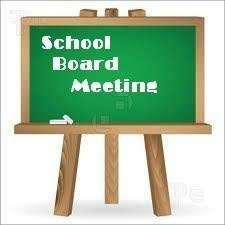 Special School Board Meeting August 6th
