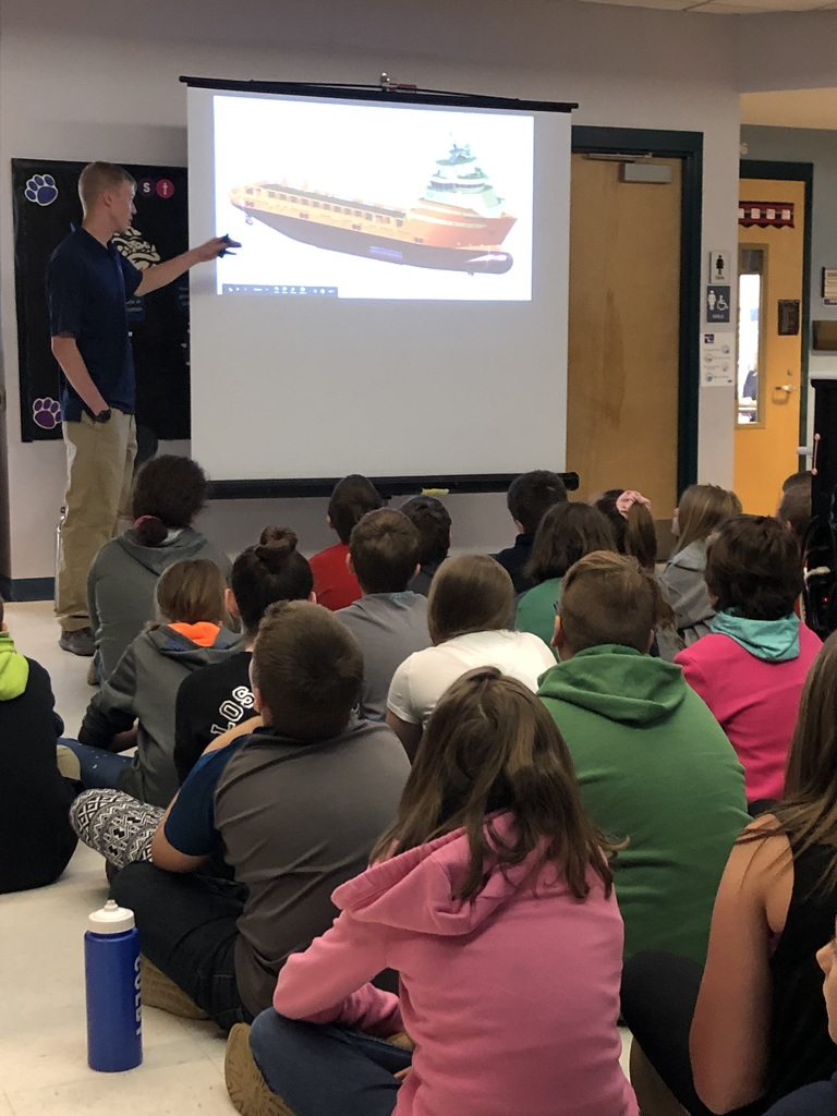 Fifth Grade Engineer Kickoff with Chief Engineer Travis Chenevert